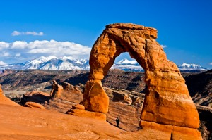 Delicate Arch Lovers - by Bob Fergeson